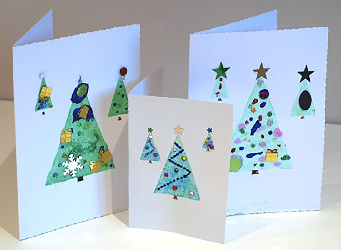 Ideas For Christmas Cards For Children.Christmas Card Factory Artful Kids