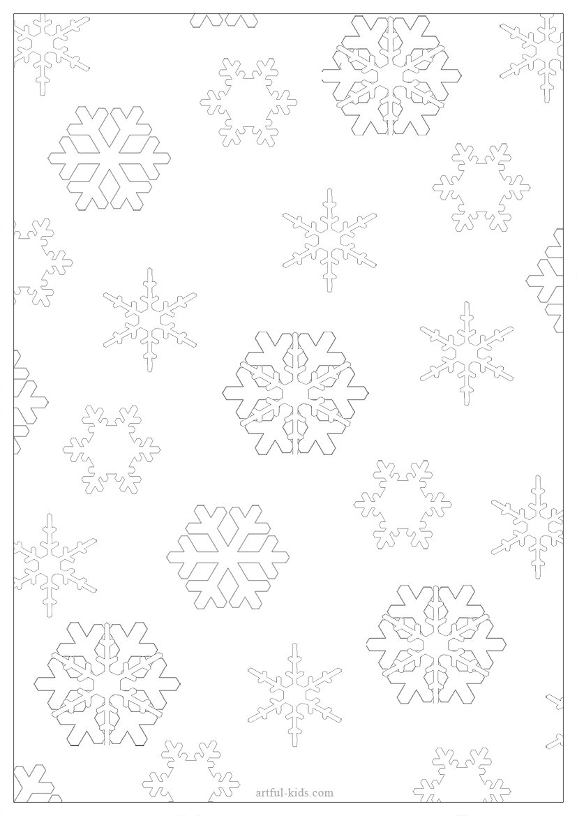 snowflake-colour-in-gift-wrap