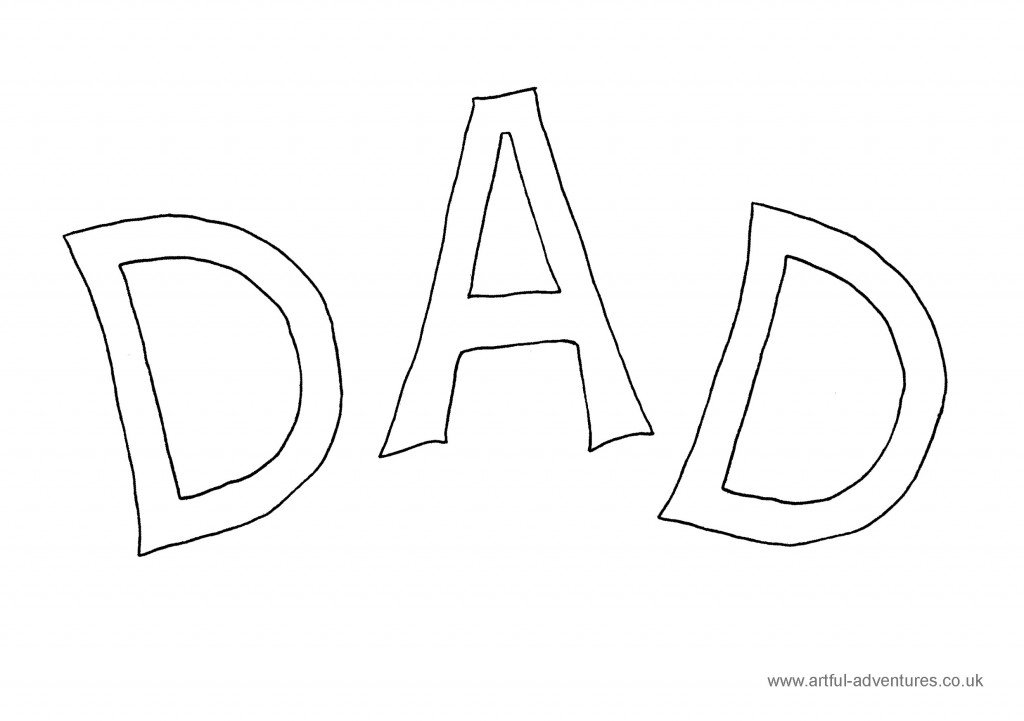 Dad-Colouring-Sheet