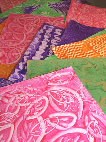 Decorative-paste-papers
