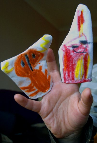 kids-art-finger-puppets