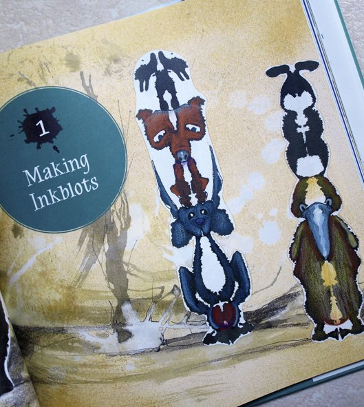 ink-blot-totem-poles