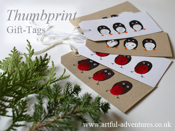 thumbprint-gift-tags-for-christmas