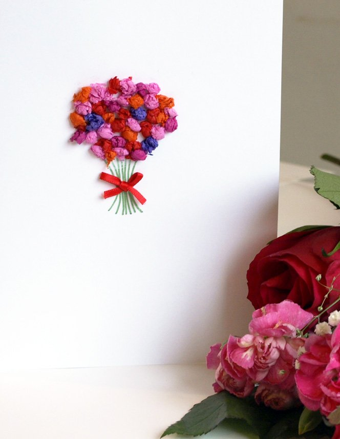 tissue-paper-posy-card
