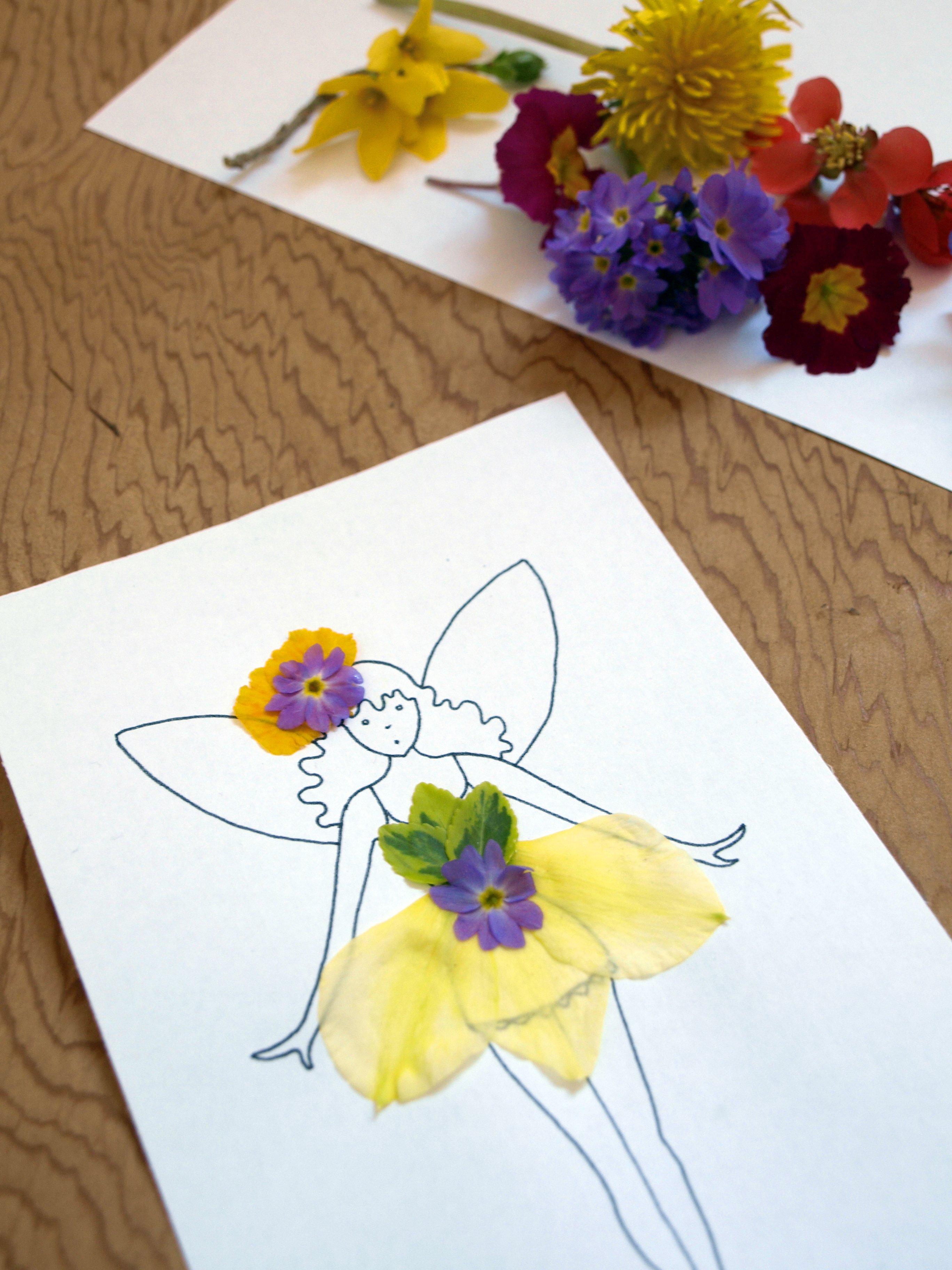 Flower Fairy Fashions – Artful Kids
