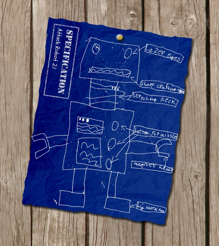 robot-blueprint-childrens-art