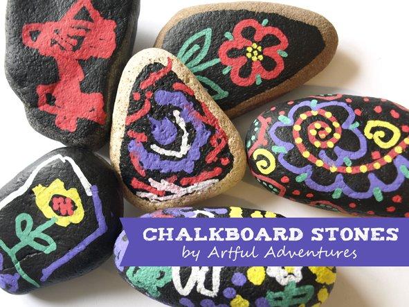 chalkboard-stones-by-artful-adventures