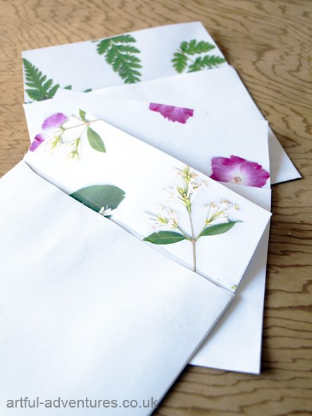 botanical-envelopes