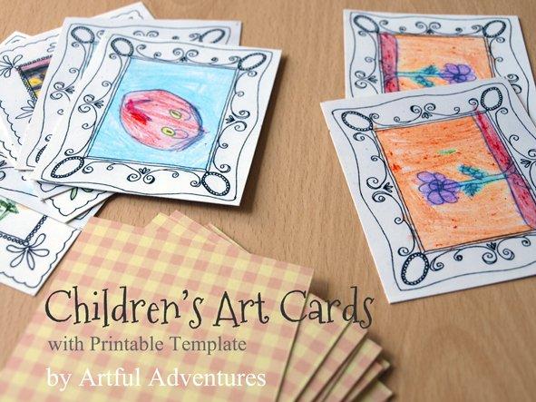 children's-art-cards