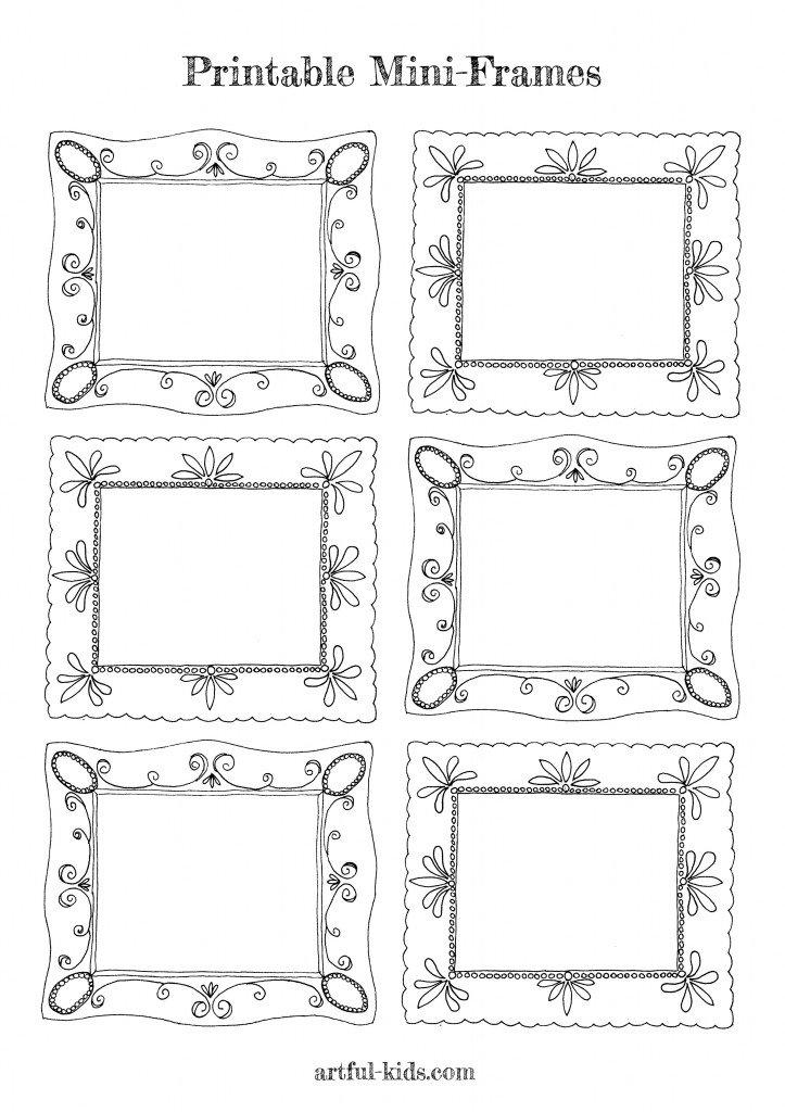 printable-mini-frames