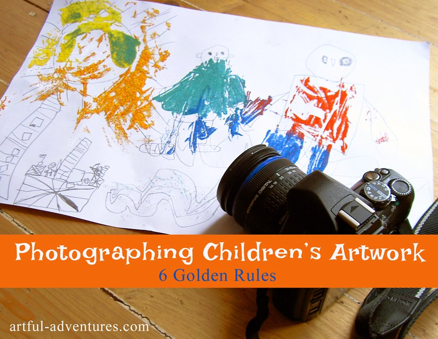 photographing-children's-artwork