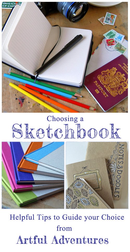 choosing-a-sketchbook