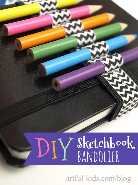 DIY-sketchbook-bandolier