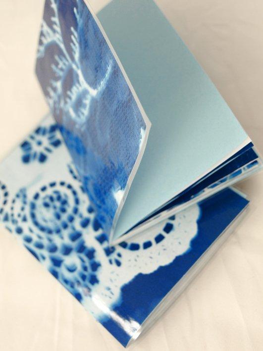 sunprint notebooks