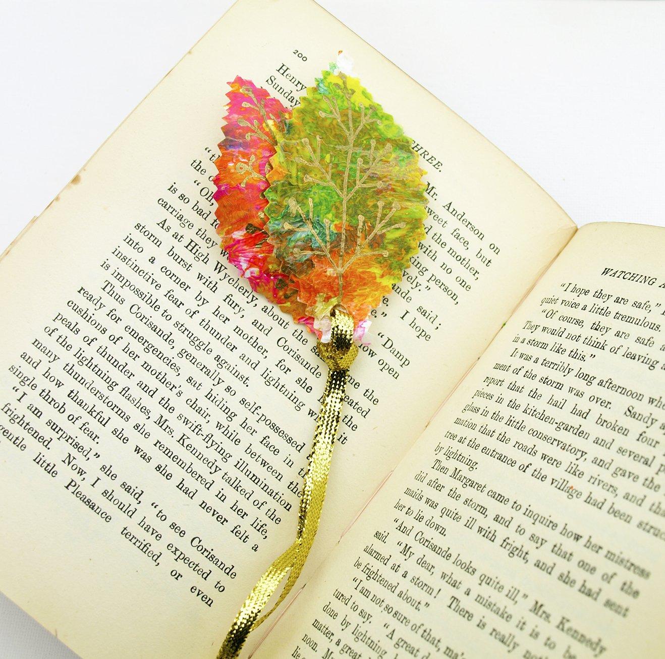 fused plastic bookmark