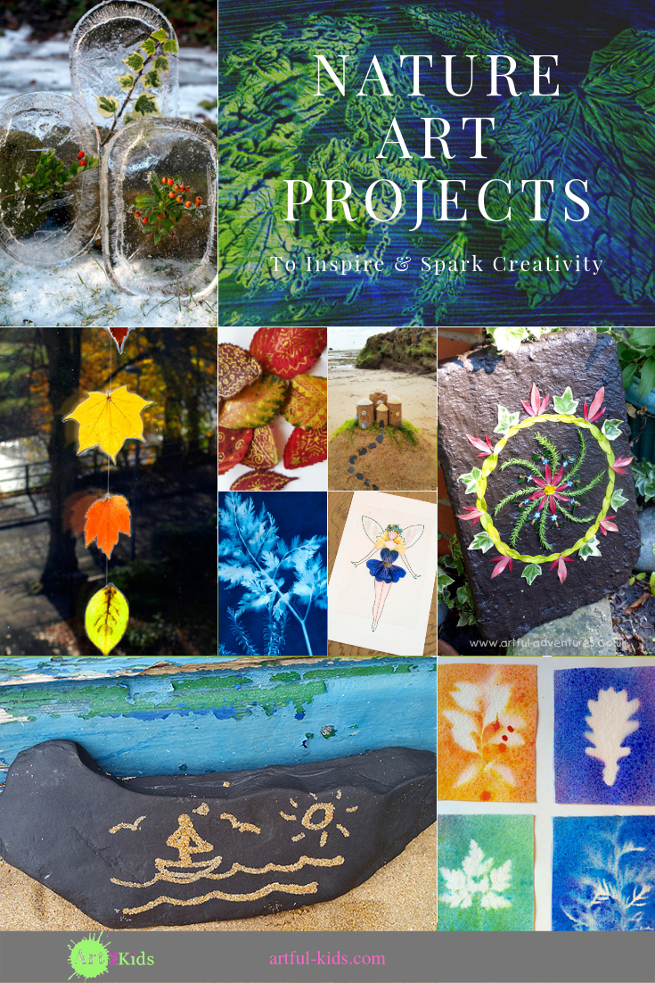 nature art projects