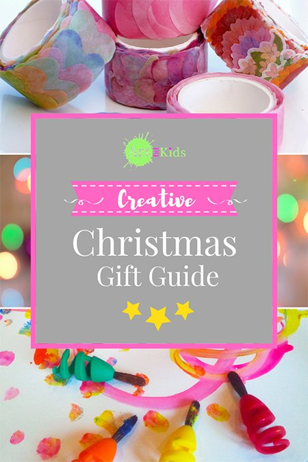 The Artful Kids Creative Christmas Gift Guide 2019