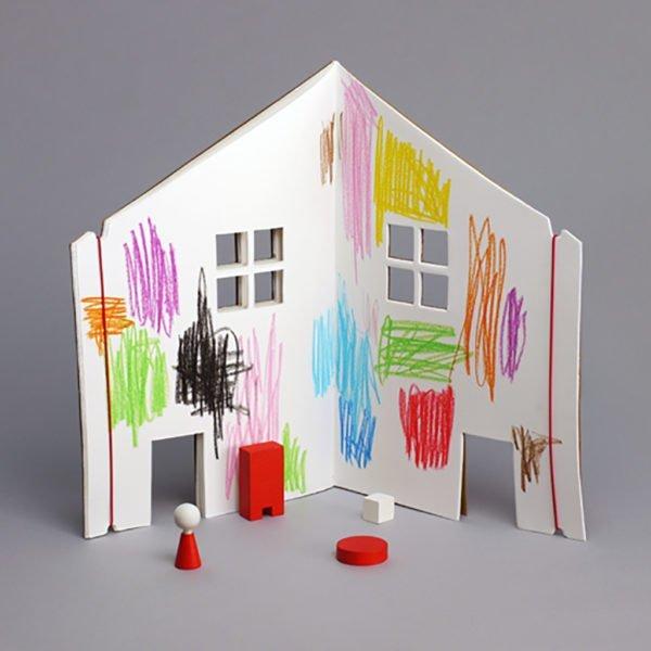 dollhouse sketchbook