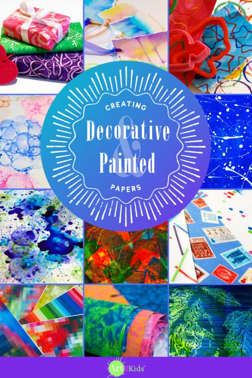 Creating Decorative & Painted Papers